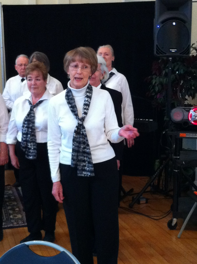 Seniors Sing at First Friday