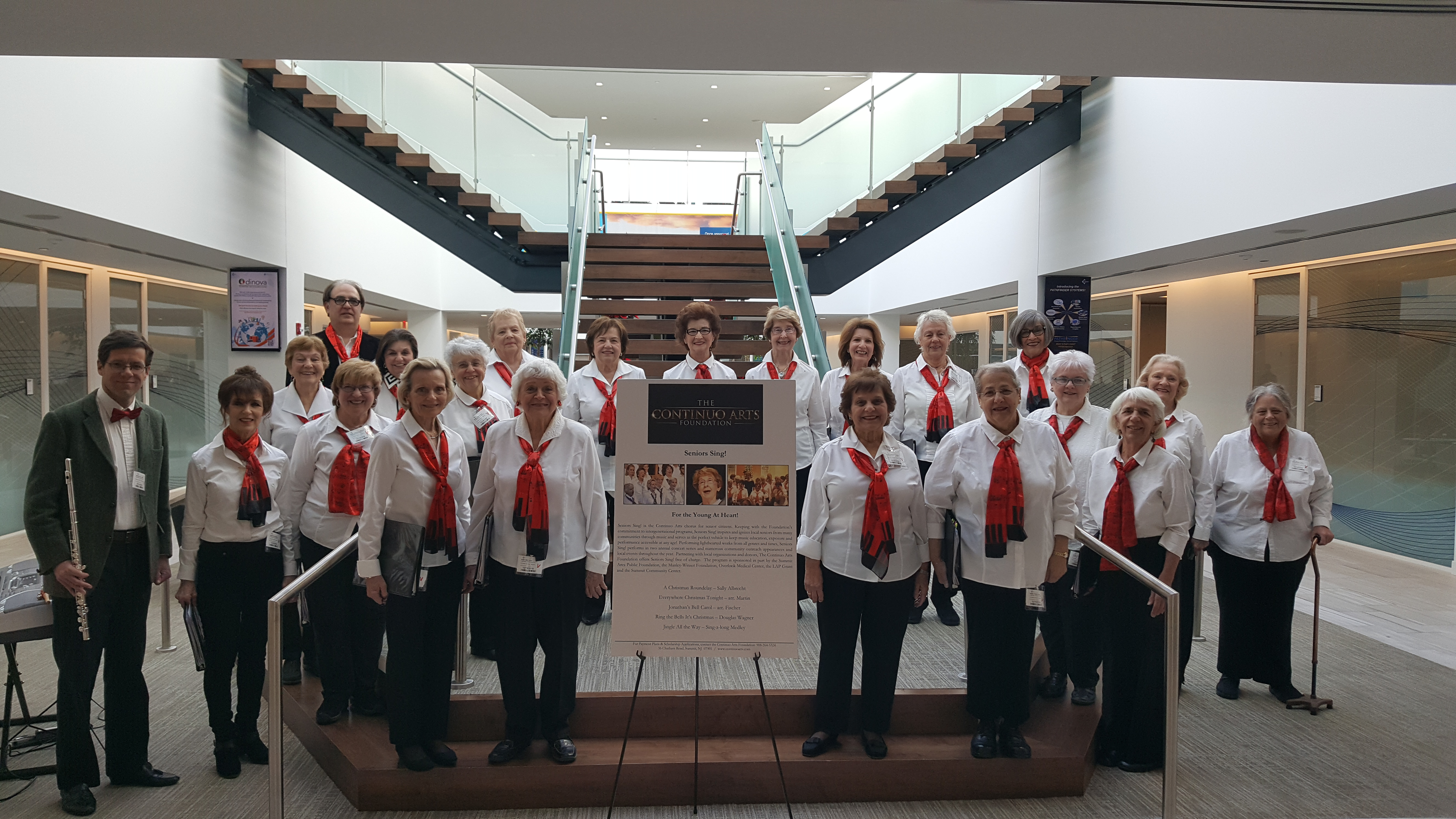 Seniors Sing! at Celgene