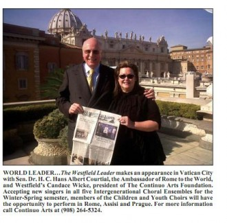 Dr's Courtial, Wicke & the Westfield Leader in Vatican City