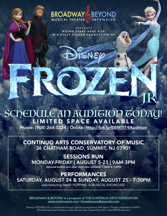 Frozen Jr. Poster