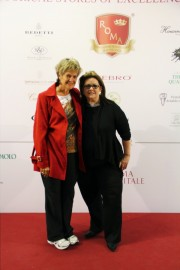 On the red carpet in Roma